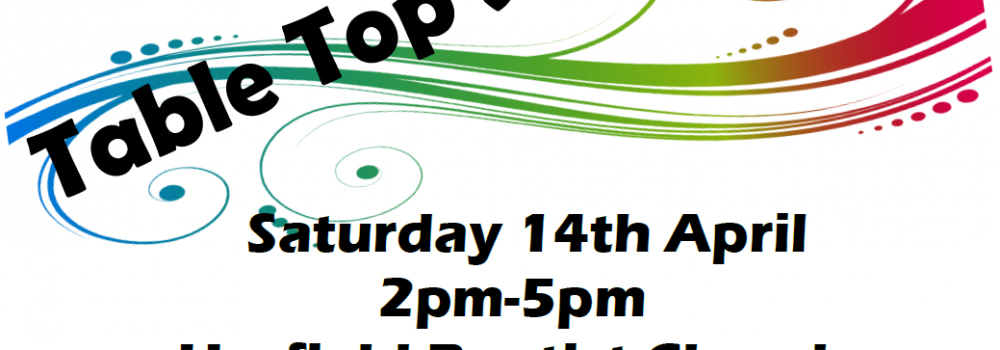 Table Top sale at the 91st Bristol Scout Group